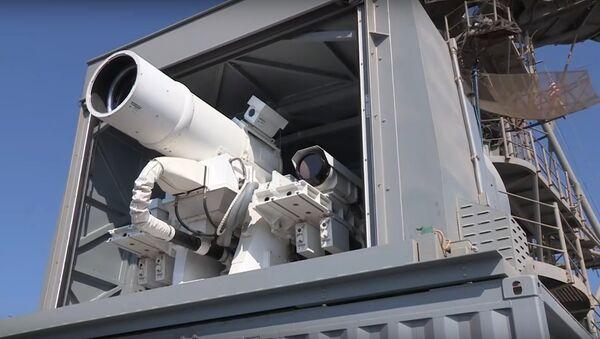 Laser Weapon System (LaWS) demonstration aboard USS Ponce - Sputnik Italia