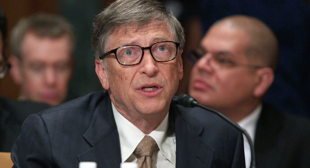 Bill Gates (foto d'archivio)