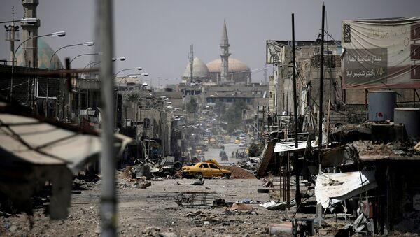 A view of a part of western Mosul, Iraq, May 29, 2017 - Sputnik Italia