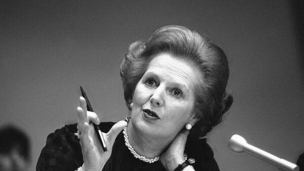 Former British Prime Minister Margaret Thatcher - Sputnik Italia