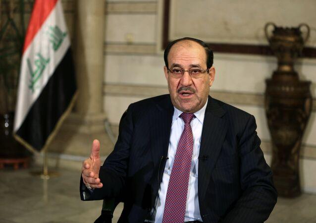 il vice presidente dell'Iraq, Nouri Maliki