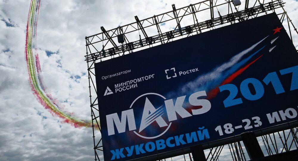 Il salone aeronautico internazionale MAKS-2017