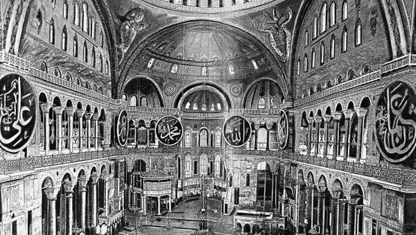 Basilica di Santa Sofia a Costantinopoli - Sputnik Italia