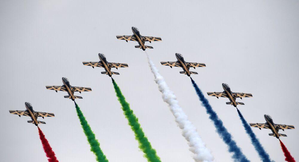 Il sesto giorno della fiera aeronautica MAKS-2017 IN DIRETTA