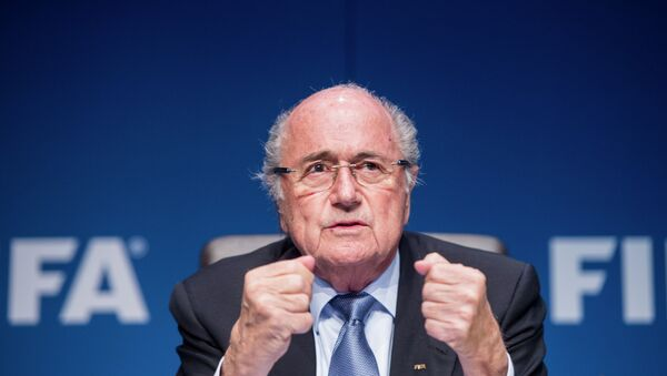 Presidente FIFA Joseph Blatter - Sputnik Italia