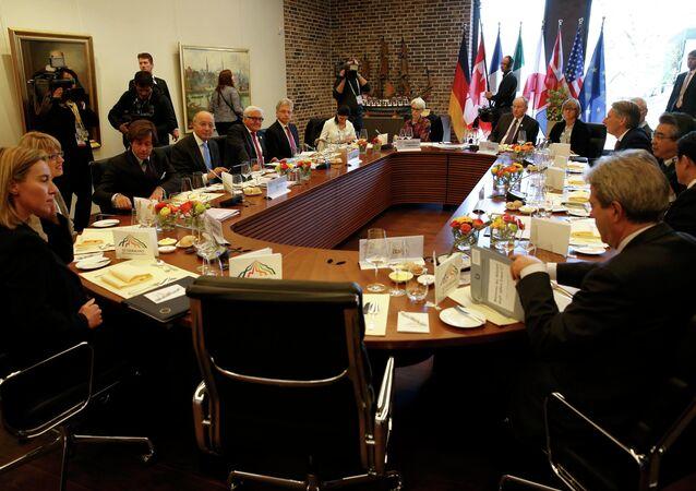 Durante un vertice del G7