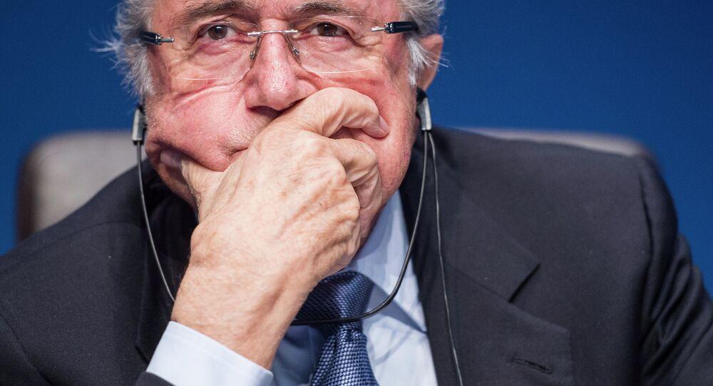 Ex presidente della FIFA Joseph Blatter