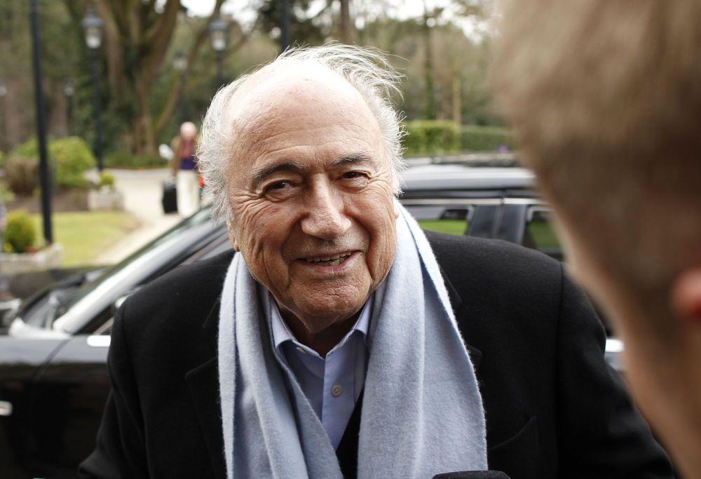 Presidente della Federazione internazionale di calcio Joseph Blatter, 2015.