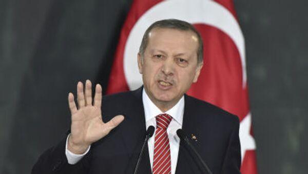 Presidente turco Erdogan - Sputnik Italia