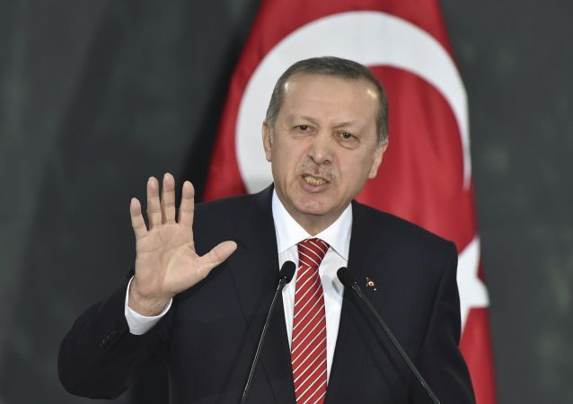 Presidente turco Erdogan