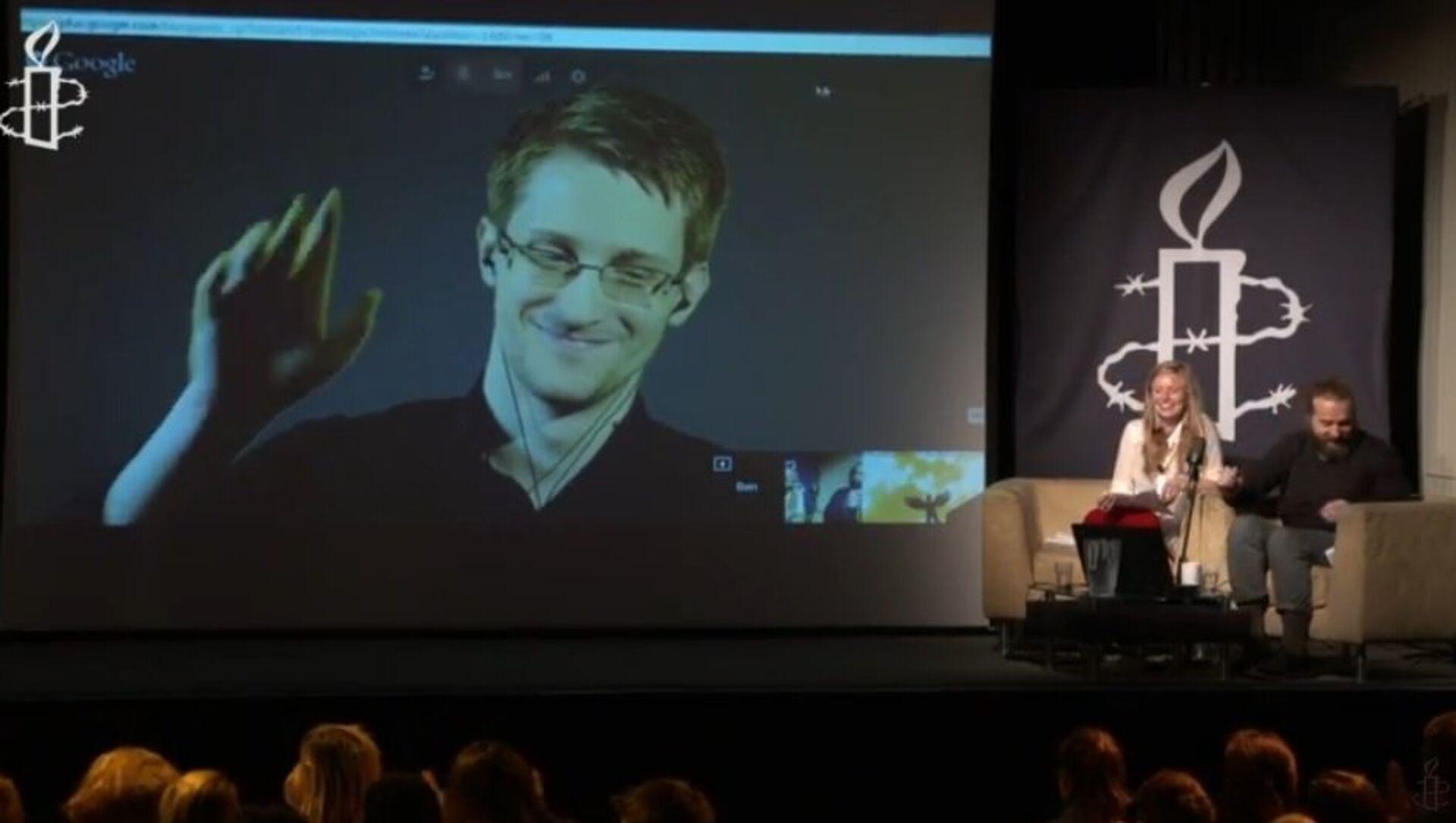 Edward Snowden - Sputnik Italia, 1920, 18.03.2021
