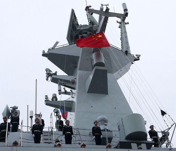 Il Baltico riceve la visita delle navi militari cinesi - Sputnik Italia