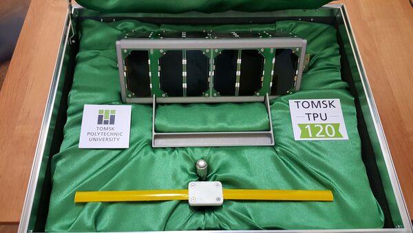 Первый в мире космический спутник «Томск-ТПУ 120», напечатанный на 3d-принтере - Sputnik Italia