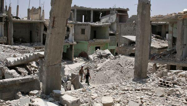 Macerie in Siria - Sputnik Italia