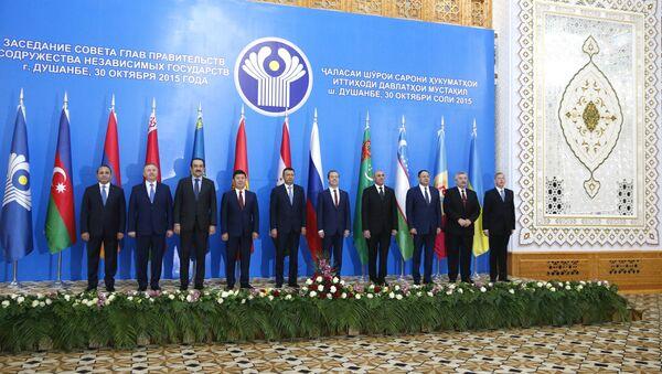 Capi dei paesi della comunità degli stati indipendenti a Dushanbe. File photo - Sputnik Italia