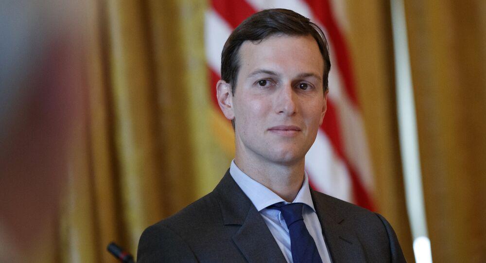 Il consulente senior e genero del presidente Usa Donald Trump Jared Kushner