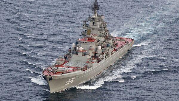 L'incrociatore pesante nucleare Petr Velikij - Sputnik Italia