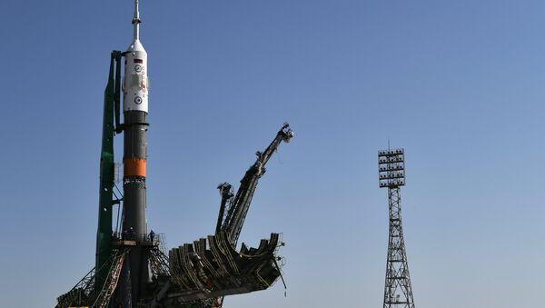 "Il lancio della navetta ""Soyuz MC-05"" - Sputnik Italia"