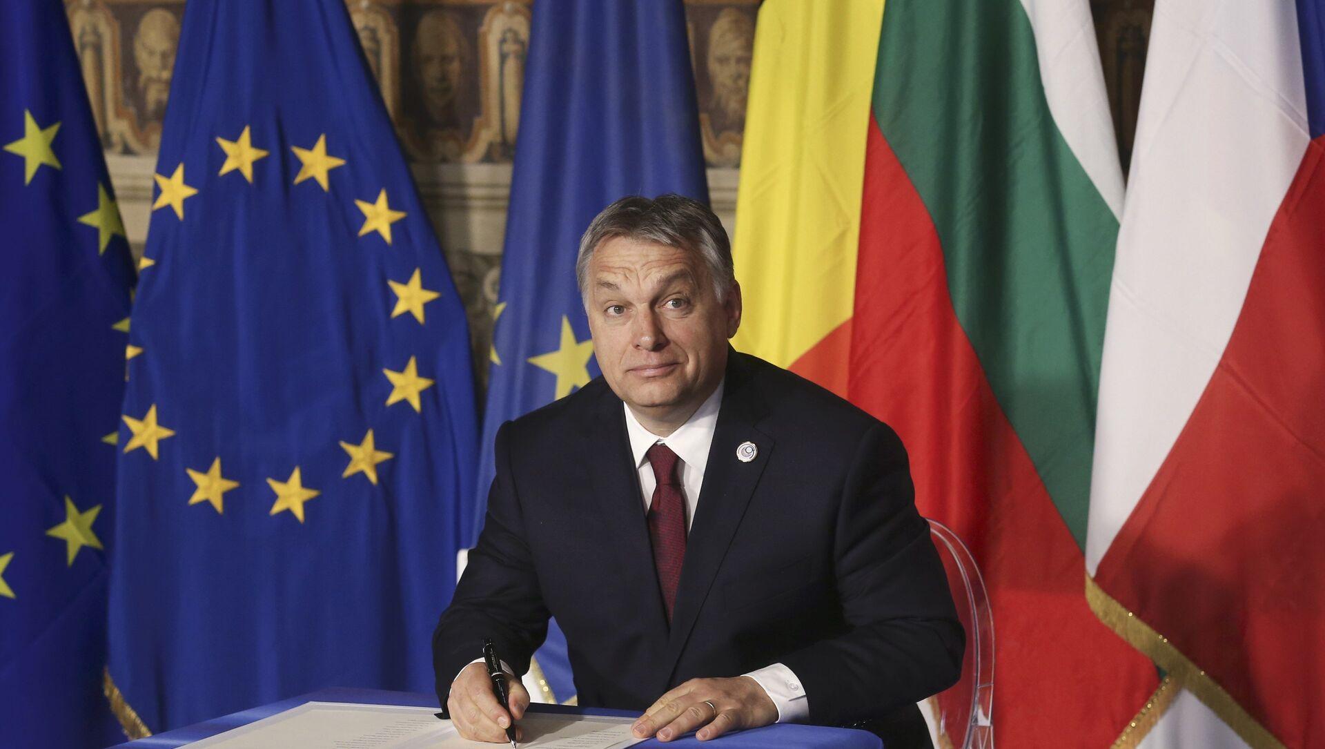 Ora Orban vuole rifondare la destra europea: Al lavoro con Salvini, Meloni e il Pis polacco - Sputnik Italia, 1920, 19.03.2021