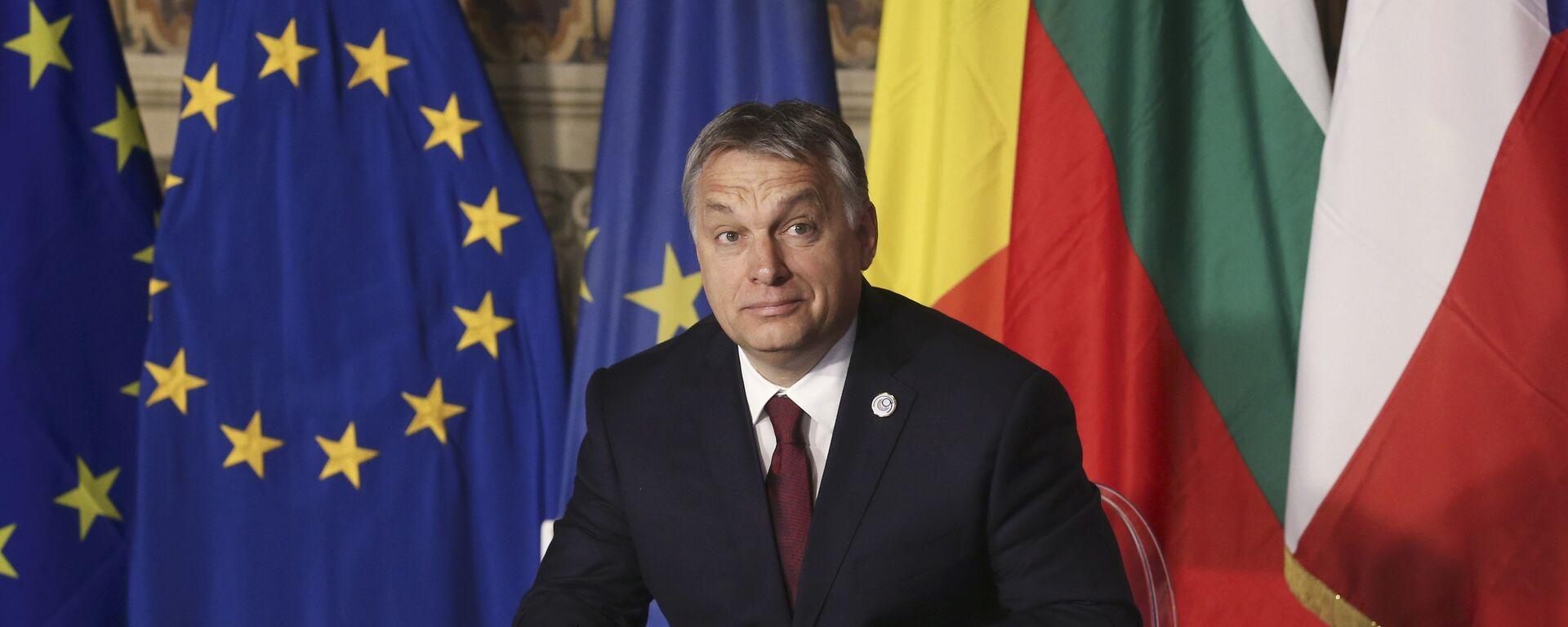 Il primo ministro ungherese Viktor Orban. (foto d'archivio) - Sputnik Italia, 1920, 18.07.2021