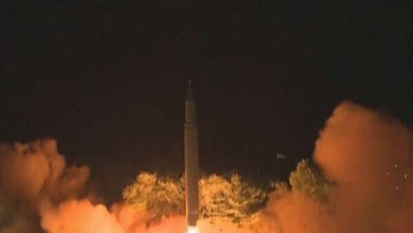 Il recente test missilistico della Corea del Nord - Sputnik Italia