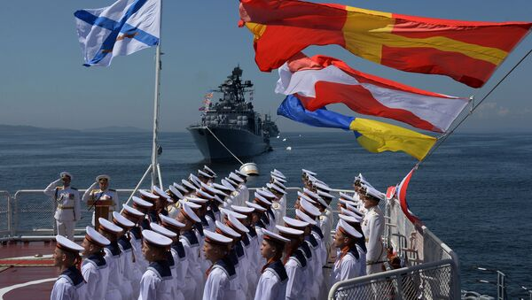 La parata del Giorno della Marina Militare russa - Sputnik Italia