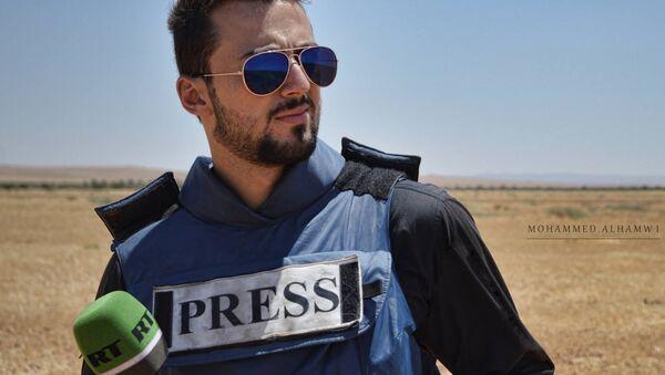 RT reporter Khaled G. AlKhateb - Sputnik Italia