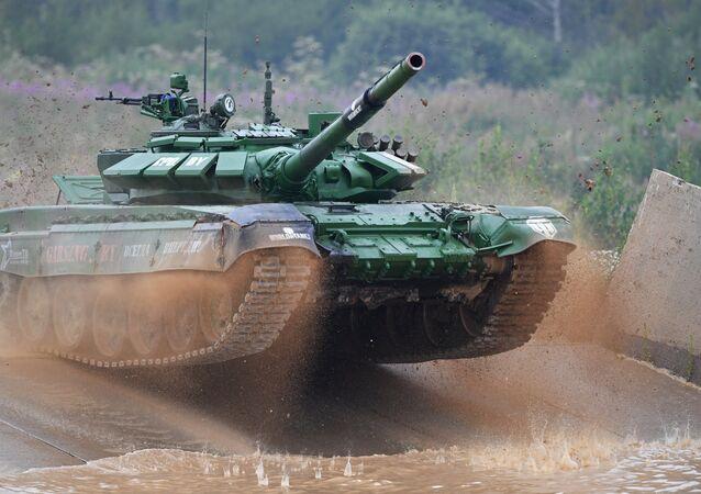 Il biathlon dei carri armati