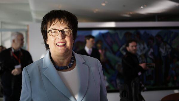 il ministro tedesco per l'Economia e l'Energia Brigitte Zypries - Sputnik Italia