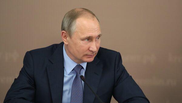 Il presidente russo Vladimir Putin. - Sputnik Italia