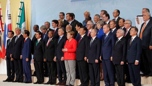 G20 leaders summit in Hamburg - Sputnik Italia