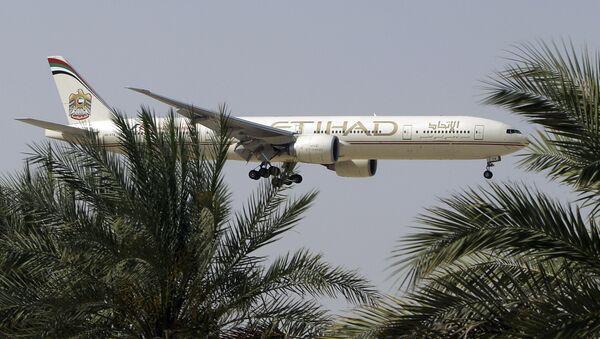 Aereo della compagnia di bandiera degli Emirati Arabi Etihad Airways - Sputnik Italia