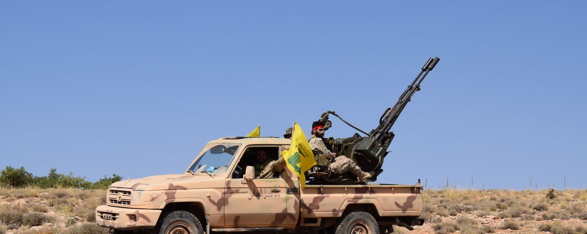 Hezbollah in Jaroud Aarsal - Sputnik Italia, 1920, 06.08.2021