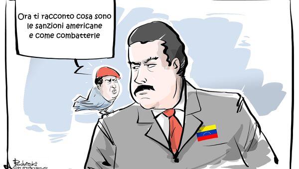 USA impongono sanzioni al presidente venezuelano Nicolas Maduro - Sputnik Italia
