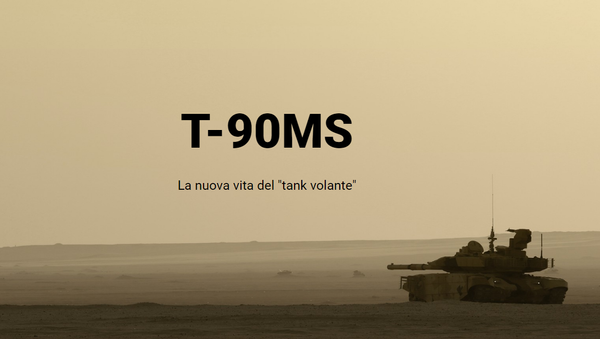 Il tank T-90MS - Sputnik Italia