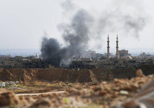 Combattimenti a Deir ez-Zor