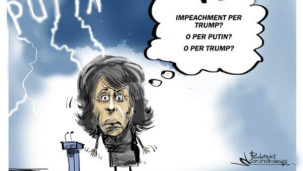 Maxine Waters ha promesso di richiedere l'impeachment per il presidente russo Vladimir Putin - Sputnik Italia
