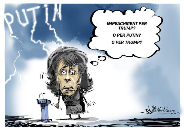 Maxine Waters ha promesso di richiedere l'impeachment per il presidente russo Vladimir Putin