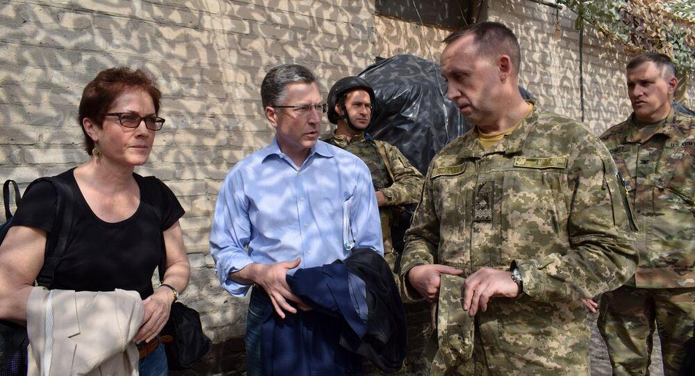 L'inviato speciale degli Stati Uniti sull'Ucraina Kurt Volker