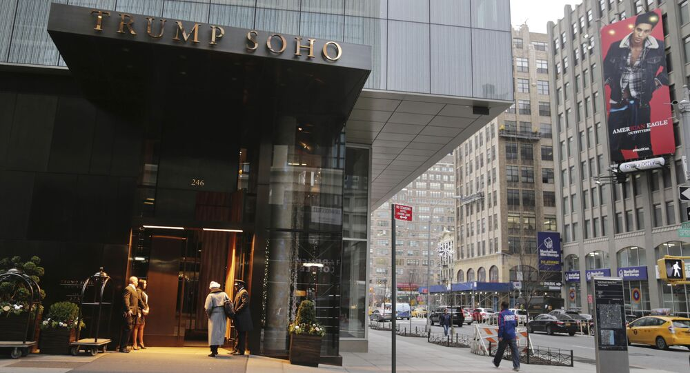 Hotel Trump SoHo a New York (foto d'archivio)