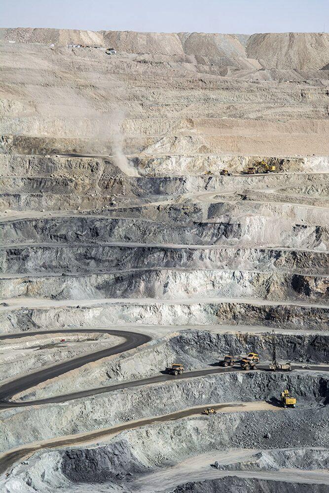 L'estrazione del ferro grezzo in Iran