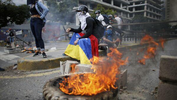 Le proteste in Venezuela - Sputnik Italia