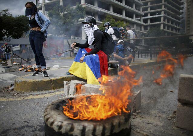 Le proteste in Venezuela