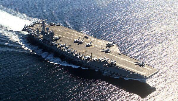 USS Nimitz (CVN-68), a US Navy aircraft carrier - Sputnik Italia