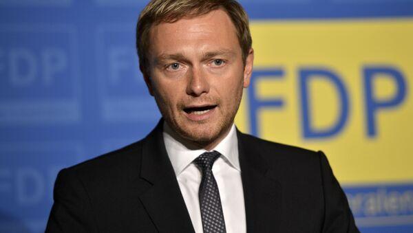 Christian Lindner of the Free Democratic party FDP - Sputnik Italia