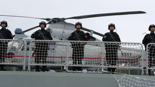 Esercitazioni navali sino-russe - Sputnik Italia