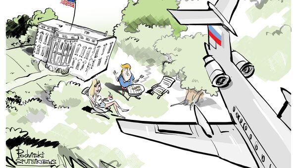Aereo russo sorvola Casa Bianca - Sputnik Italia