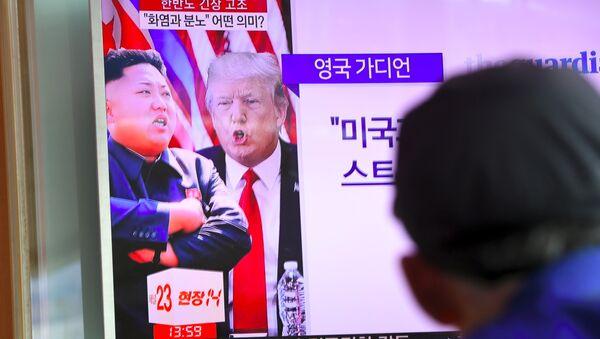 Kim Jong-un e Donald Trump - Sputnik Italia