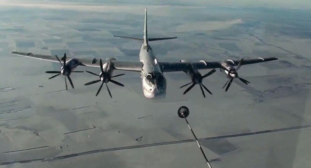 Bombardiere strategico russo Tu-95MS