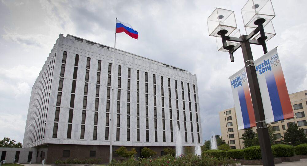 Ambasciata russa a Washington. File photo